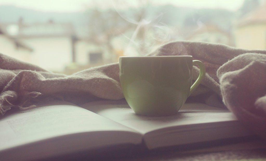 朝のコーヒー写真