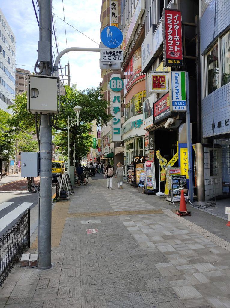 日暮里駅東口ロータリー周辺3