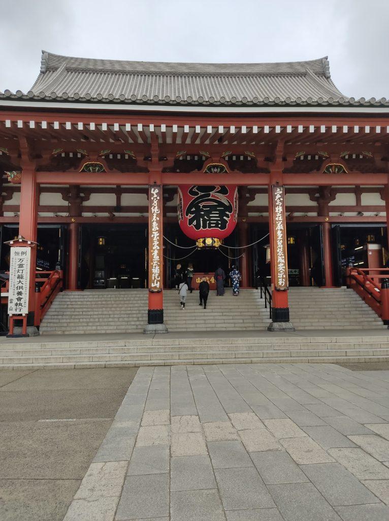浅草寺本堂。