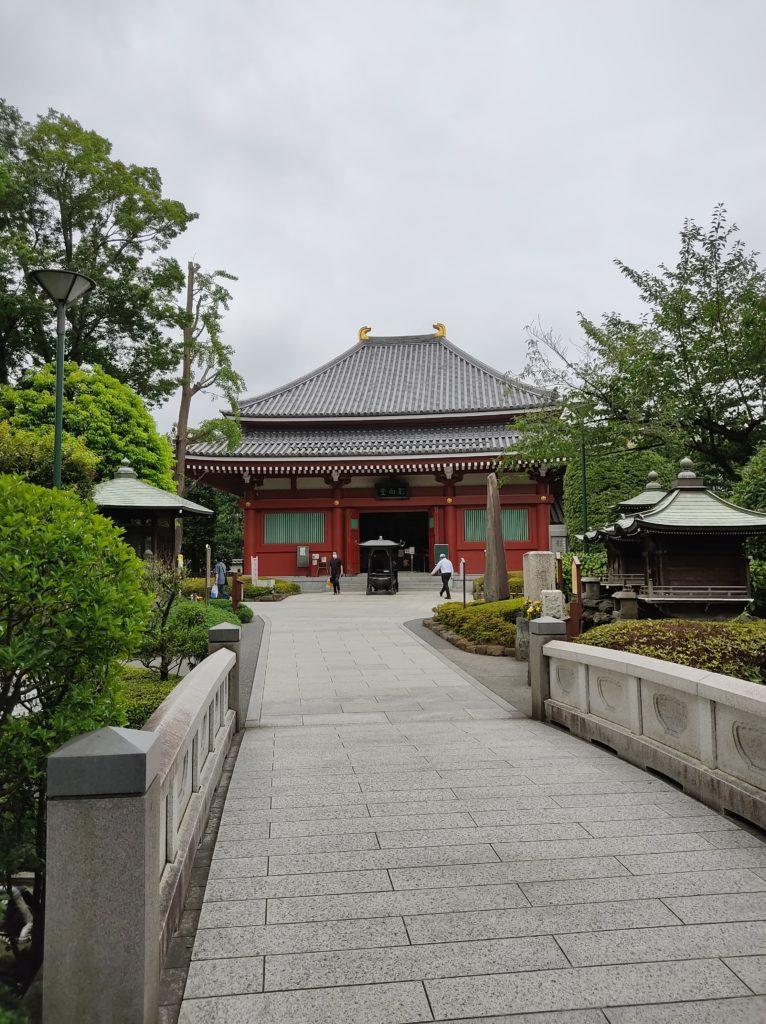 浅草寺影向堂。