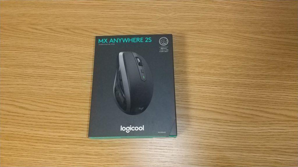 ANYWHERE 2S MX1600sのパッケージ。