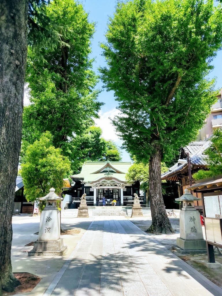 亀有香取神社。