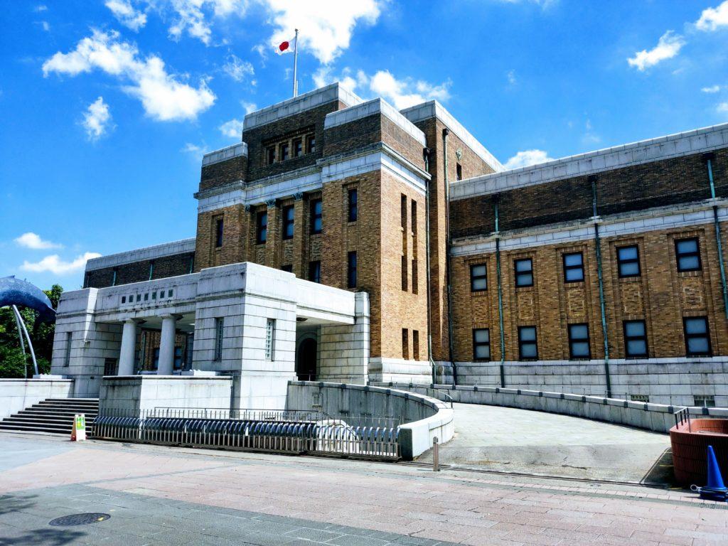 国立科学博物館。