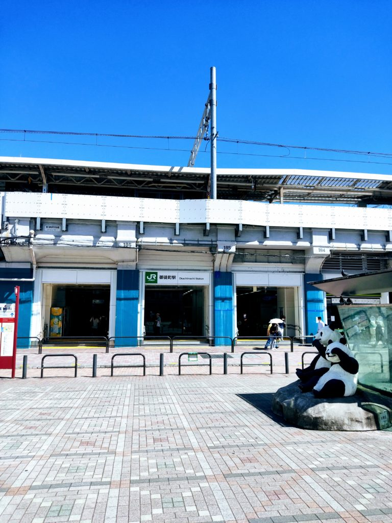 御徒町駅。