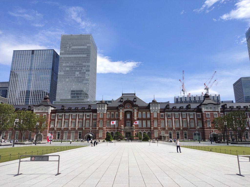 東京駅丸の内駅舎。
