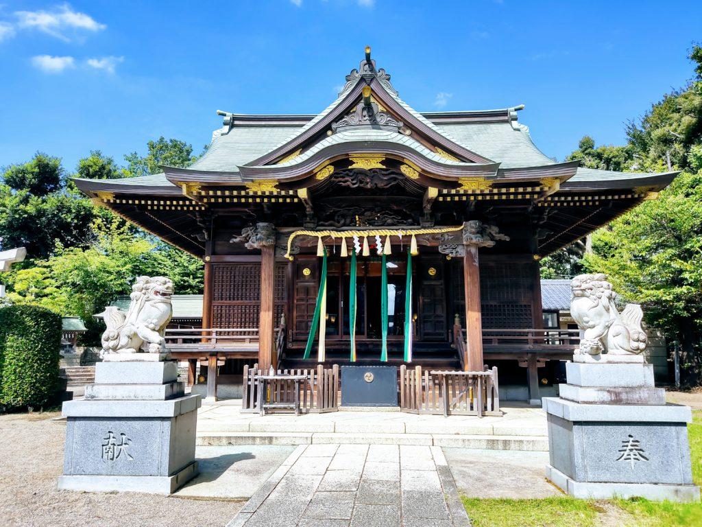 赤羽八幡神社。