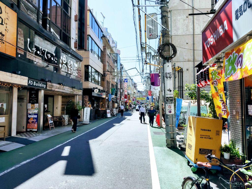 目黒銀座商店街。