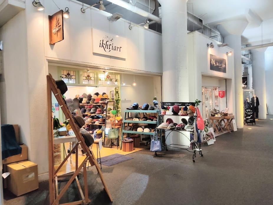 2k540 AKI-OKA ARTISAN内の店舗。