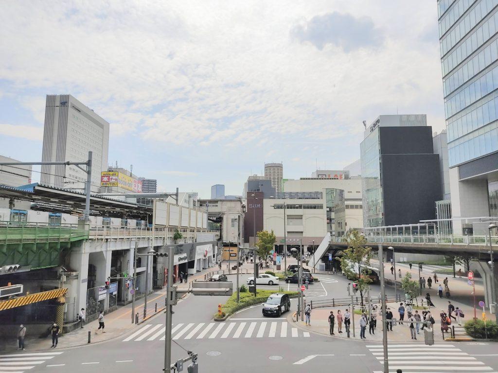 秋葉原駅周辺。