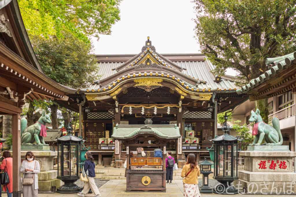 豊川稲荷東京別院本殿。