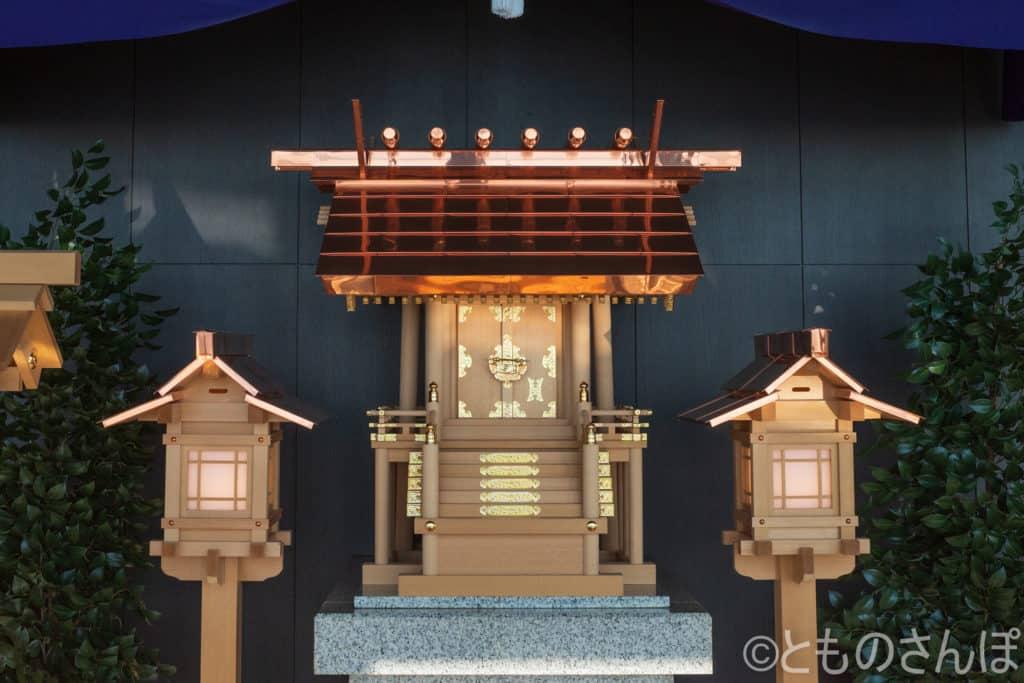東京タワー「タワー大神宮」。
