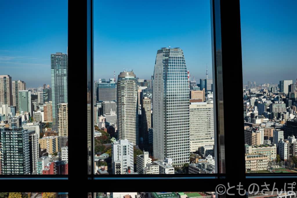 東京タワーメインデッキからの景色。