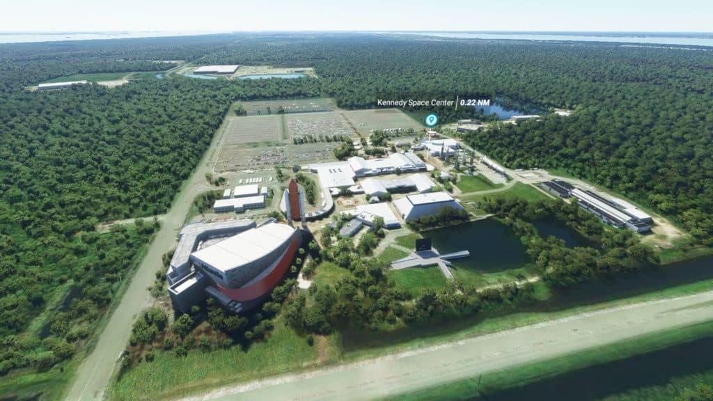 ケネディー宇宙センター(フロリダ州)。