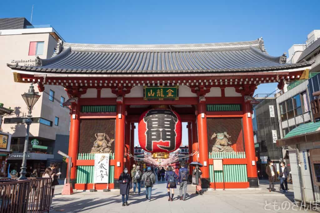 浅草寺雷門。
