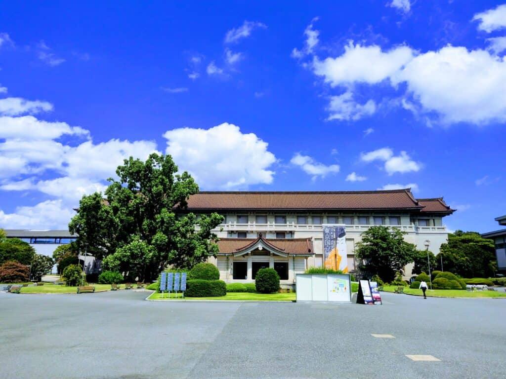東京国立博物館。