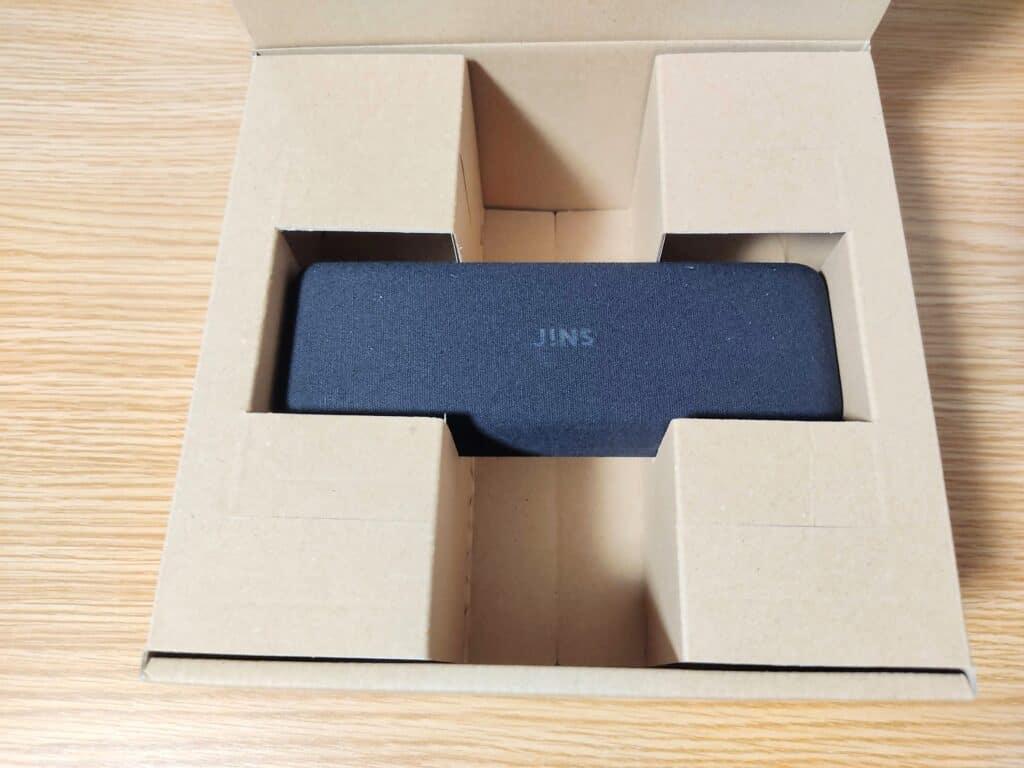 箱を開けたところ。