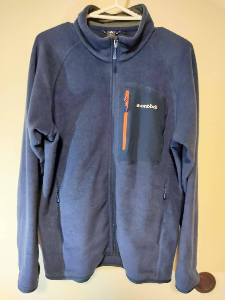モンベル「クリマプラス100ジャケット」