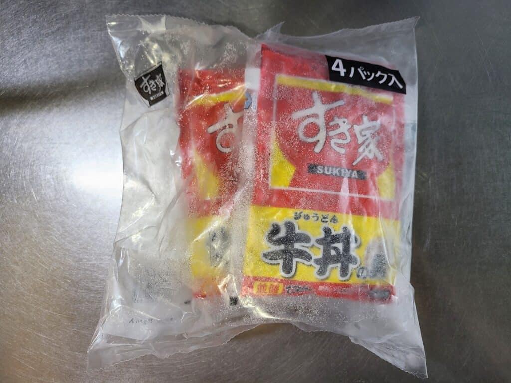 『すき家 牛丼の具(冷凍)』 4食入り