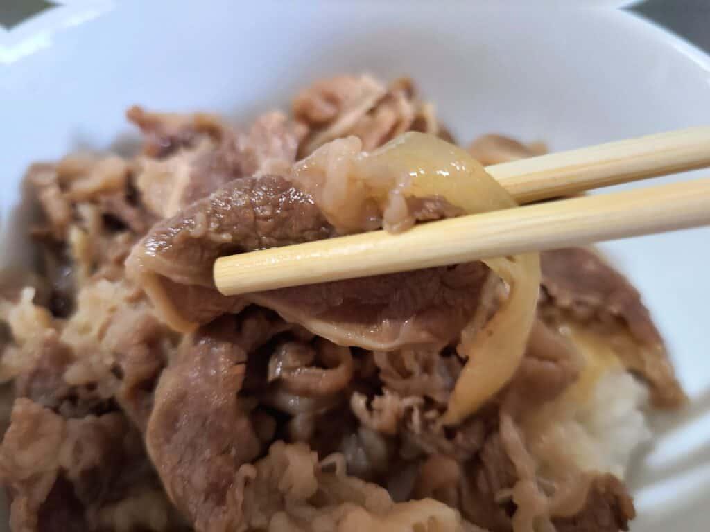 『すき家 牛丼の具(冷凍)』
