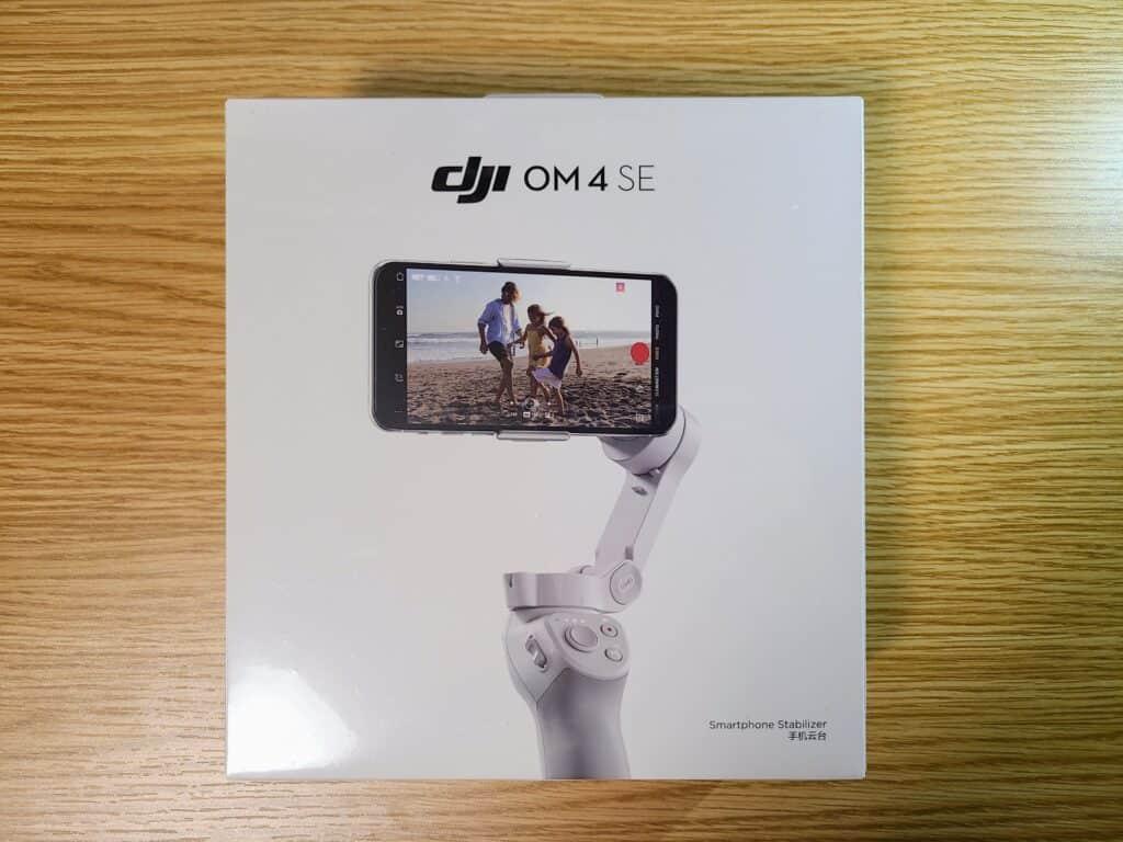『DJI OM 4 SE』化粧箱